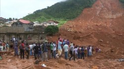 Deadly mudslide in Sierra Leone kills at least 270