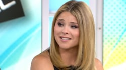 What did George W. Bush say to put Jenna Bush Hager in tears?