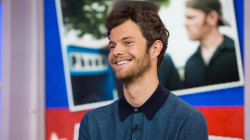Jack Quaid talks about 'Logan Lucky,' seeing a band with Daniel Craig