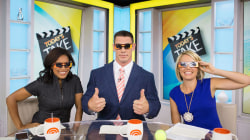 John Cena celebrates his SummerSlam victory on TODAY's Take