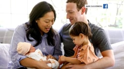 Mark Zuckerberg and Priscilla Chan share family photo with new baby