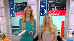 5 easy fixes to your summer hair woes