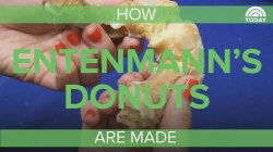 The Follow: See how Entemann's famous donuts are really made