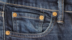 Why do we have studs on our jeans?
