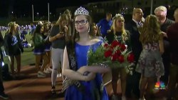 The California Girl Who Can't Go Out in the Sun Named Homecoming Queen