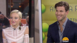 Andrea Riseborough, Austin Stowell talk about 'Battle of the Sexes'