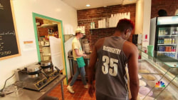 Hoops to Scoops: Basketball Star Finds Success Opening Ice Cream Parlor