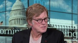 Redford: I hope Americans start to pay real attention