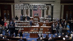 House Passes Harvey Aid and Budget Package, Sends Bill to Trump