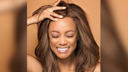 Why Tyra Banks is thankful for her 'big forehead'