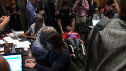 Health Care Protesters Are Forcibly Removed From Capitol Hill