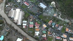 Aerial Footage Of Dominica Captures The Destruction Of Hurricane Maria