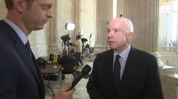 McCain Wants Bipartisan Process for Last-Ditch Obamacare Repeal Bill