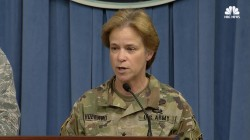 Pentagon Updates on Hurricane Response Efforts in Puerto Rico, Virgin Islands