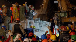 Rescuers Search for Survivors in Collapsed Mexican Factory