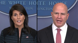 Haley, McMaster Present Next Options for North Korea Approach