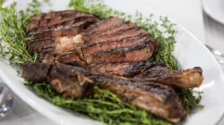 Al Roker makes rib-eye steak with creamed spinach and baked potato