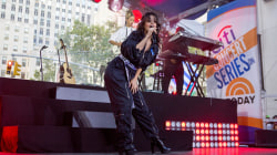 See Camila Cabello sing 'Bad Things' live on the TODAY plaza