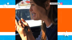 Watch Jennifer Garner gush about 'Hamilton' (after dentist)
