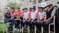 See the world's top golfers gather on the TODAY plaza