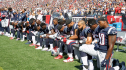 NFL players defy Trump's tweets about national anthem