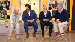 Judi Dench and other stars talk about new film 'Victoria and Abdul'