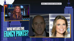Watch Savannah Guthrie play 'Who Wears the Fancy Pants?' on Andy Cohen