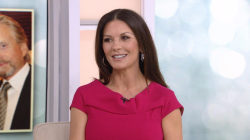Catherine Zeta-Jones talks about Michael Douglas and her new QVC line
