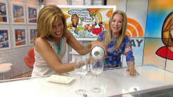 Burt's Bees lip gloss, Vinglace wine chiller: KLG and Hoda's Favorite Things