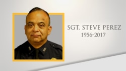 Life well lived: Sgt. Steve Perez, who died while headed to work during Hurricane Harvey