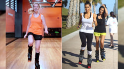 We tried Boing with Kangoo, a fitness class sure to add a little spring to your step!