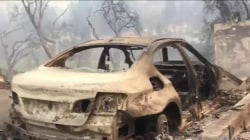 Homes and Lives in Ruins in California Wildfires