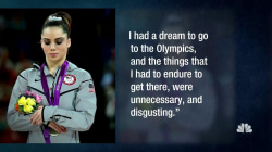 Olympic Gymnast McKayla Maroney Says Team Doctor Molested Her at 13
