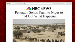 Pentagon sends team to Niger to learn what happened