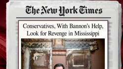 Conservatives and Bannon seek revenge in Miss.: NYT