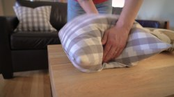 How to properly fluff a pillow