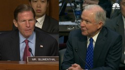 Watch Sessions Act Coy With Senate on Special Counsel Questions