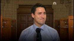 Justin Trudeau Cries Over Death of Tragically Hip Frontman