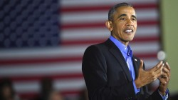 Former President Obama Jokes About 'Four More Years' While Campaigning for New Jersey Governor Nominee