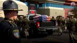 Funeral Held for Slain Las Vegas Police Officer
