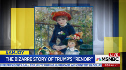 Trump insisted his Renoir is real, even though it's fake