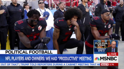 No Deal Reached on NFL Players Protests