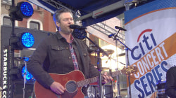 See Blake Shelton perform 'I'll Name the Dogs' live on TODAY's Halloween