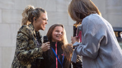 See Rachel Platten share a tender moment with a fan: 'I believe in you!'
