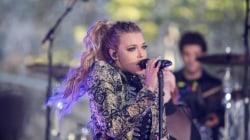 Watch Rachel Platten perform her new single  'Collide' on the TODAY plaza