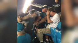 Suspect charged with assaulting 62-year-old at Carolina Panthers game