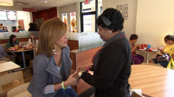 See Hoda Kotb's heartwarming Pink Power surprise for Wendy's manager