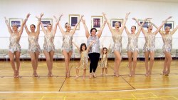 See breast cancer survivor get a surprise dance lesson from the Rockettes