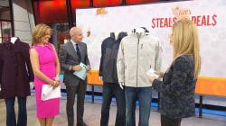 Coats, scarves, bathrobes, comforter: Steals and Deals to keep you warm this fall
