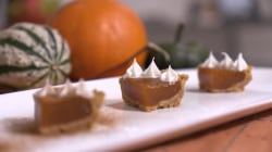 How to make mini pumpkin pie shots